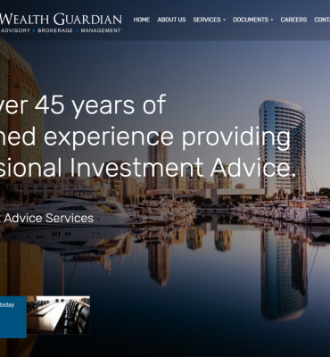Wealth Guardian home page
